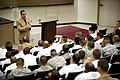 US Navy 080922-N-0696M-024 Chairman of the Joint Chiefs of Staff Navy Adm. Mike Mullen speaks to military recruiters at the University of Southern California in Los Angeles.jpg