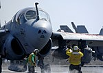 US Navy 081002-N-9988F-006 A Sailor directs an EA-6B Prowler assigned to the.jpg