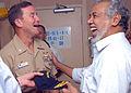 US Navy 091022-N-8607R-030 Capt. John Funk, commanding officer of the amphibious assault ship USS Bonhomme Richard (LHD 6).jpg
