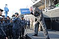 US Navy 110420-N-4031K-207 Secretary of the Navy (SECNAV) the Honorable Ray Mabus speaks to Sailors and Marines from units involved in Operation To.jpg