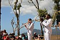 US Navy 110729-N-QX997-003 Musician 2nd Class Travis Stanley, left, Musician 3rd Class Michael Bookman and the U.S. 7th Fleet Band perform during a.jpg
