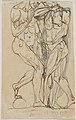Ugolino and his Sons (recto); Anatomical Studies (verso) MET DP830534.jpg