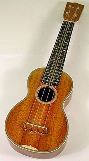 Reentrant tuning - Soprano ukulele, an instrument which is almost always tuned in re-entrant fashion
