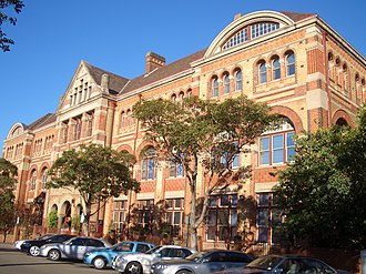 Sydney Technical College - Image: Ultimo Sydney Institute 3