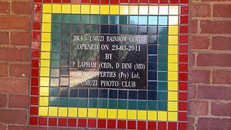 Barnato Park High School - Jika – Umuzi Rainbow Centre, opened on 23-03-2011
