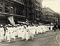 Black Cross Nurses' parade, 1922