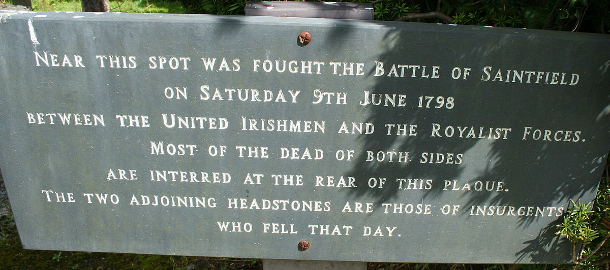 Battle Of Saintfield Wikipedia