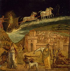 Phaeton Driving the Chariot of Phoebus