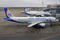 VQ-BDJ - A320 - Ural Airlines