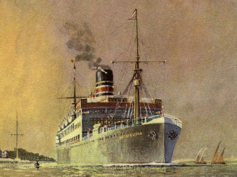 Essberger, le sort des navires marchands allemands en 1939 800px-Ussukuma_1921_Deutsche_Ostafrikalinie