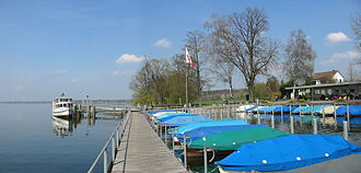 Uster - Niederuster, located at the Greifensee