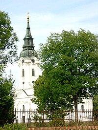 Uzdin, Romanian Orthodox church.jpg