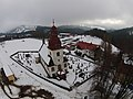 Vítkovice (okres Semily), kostel se hřbitovem II.jpg