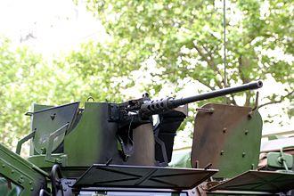 Véhicule de l'Avant Blindé - detail of open machine gun turret