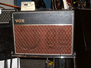 Vox (musical equipment) - The Vox AC30 amplifier