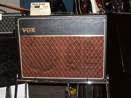 The Vox AC30 amplifier VOX AC30 Twin.jpg