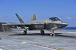 VX-23 F-35C Lightning II launching from USS George Washington (CVN-73) (160819-N-GN619-047).jpg