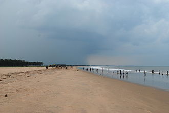 East Godavari district - Vakalapudi beach at Kakinada
