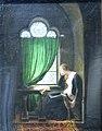 Valentine de Milan pleurant la mort de son époux Louis d orléans assassiné en 1407 par Jean duc de Bourgogne-Fleury François Richard-MBA Lyon 2014.jpeg