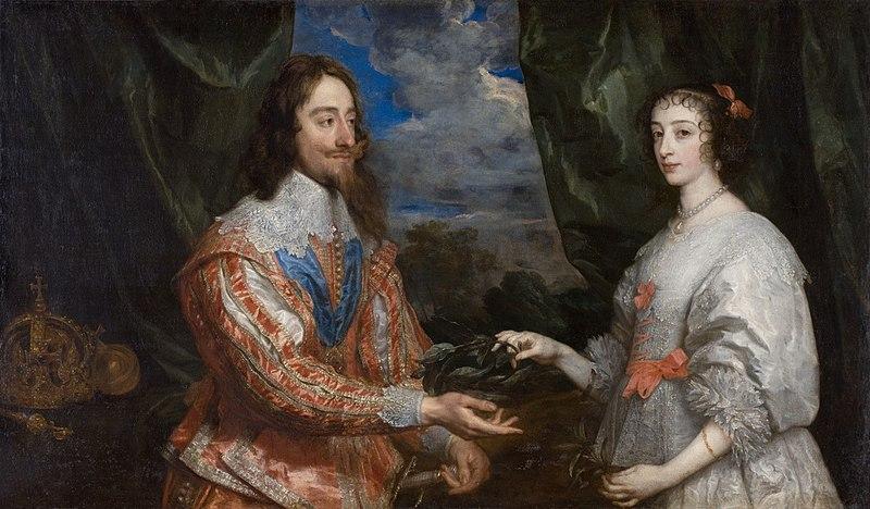 File:Van Dyck Charles I and Henrietta.JPG