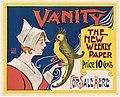 Vanity, the new weekly paper, for sale here - 10559912373.jpg