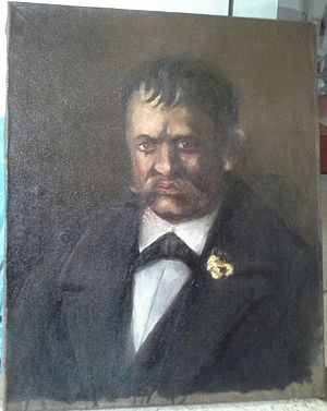 Octav Băncilă - Image: Vasile, the butler of the Arizan household