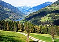 Verditz Gemeinde Treffen mit Blick zum Afritzer und Feld am See, Gegendtal, Kärnten, Österreich.jpg