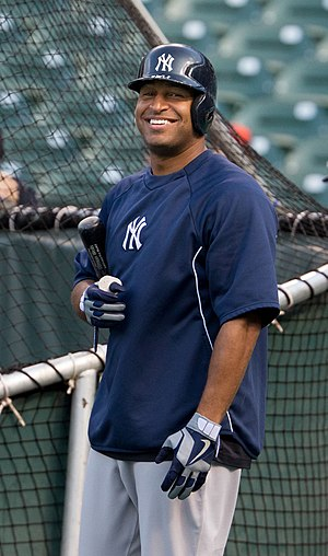 Vernon Wells - Wells with the New York Yankees
