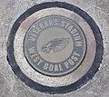 Veterans Stadium goalpost marker.JPG
