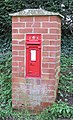Victorian postbox at Bartestree, dated 1893 - geograph.org.uk - 722673.jpg