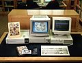 Videodisk workstation in the Catalogue Hall Wellcome L0023962.jpg