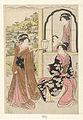 Vier hofdames luisterend naar het fluitspel van Yoshitsune-Rijksmuseum RP-P-1965-443.jpeg