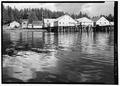 View cannery from closer in - Kake Salmon Cannery, 540 Keku Road, Kake, Wrangell-Petersburg Census Area, AK HAER AK,22-KAKE,2-4.tif