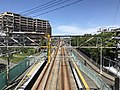 View from overpass of Shimo-Yamato Station (east).jpg