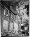 View northeast, south side elevation - 103-105 Chestnut Avenue (House), Waterbury, New Haven County, CT HABS CONN,5-WATB,20-4.tif