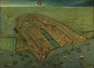 Bird's-eye View of Amsterdam