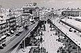 View of a square in Cadiz, Spain, in June 1955.jpg