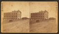 View of the 'Pensaukee disaster' (1877), showing damage to the hotel, by George W. Bauder.png