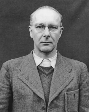 Viktor Brack - Brack's photograph for the Nuremberg trial