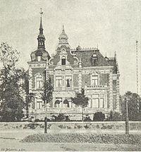 Villa Wölker ANSICHT (Karl-Tauchnitz-Straße 15, alt 31) - leipzig und seine bauten (1892), S. 381.jpg
