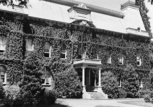 Villard Hall - Villard Hall in 1955