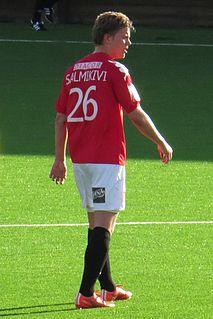 Ville Salmikivi Finnish footballer