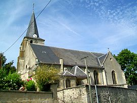 The church in Vineuil-Saint-Firmin