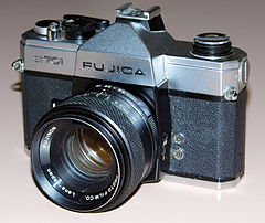 Vintage Fujica ST-701 35mm SLR Film Camera, Circa 1971 (13523328244).jpg