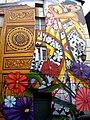 Vitoria - Canton de Santa Ana, mural 'Cubiertos de cielo y estrellas' 2.jpg