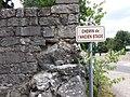 Vogüé - Plaque Chemin de l'ancien stade.jpg
