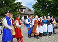 Volkstanz-Ensemble Sanok. Schau von traditionellen Volkstrachten aus der Region Sanok, 2013.JPG