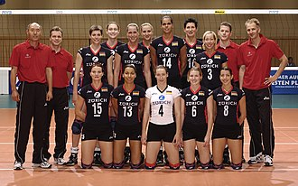 Germany women's national volleyball team - Germany women's national volleyball team at the Olympic Games 2004