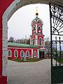 Vyazniki. View to Bell-tower of Vozdvizhenskaya Church.jpg
