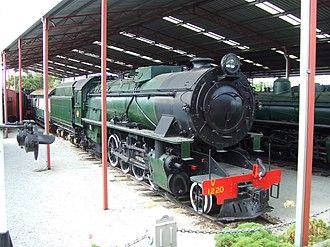 Rail Heritage WA - V1220 at the Western Australian Rail Transport Museum in April 2006